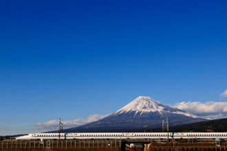 Mt. Fuji and the N700