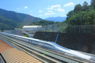 L0-series (L zero) trial linear motor car (Photo: PIXTA)