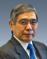 KURODA Haruhiko, Governor of the Bank of Japan