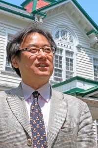 Endo Ken, Professor of international politics in the School of Law at Hokkaido University