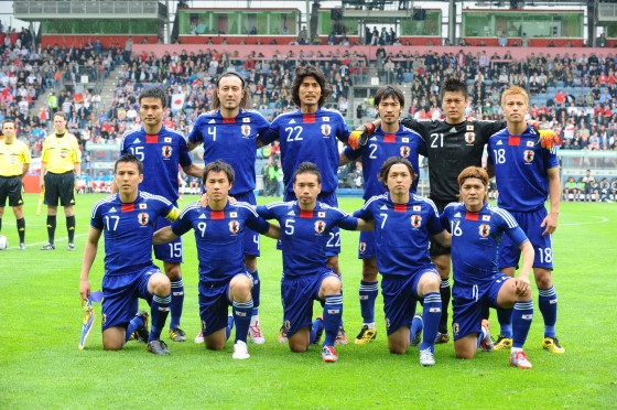 Photo : Men's Soccer Japan Representative